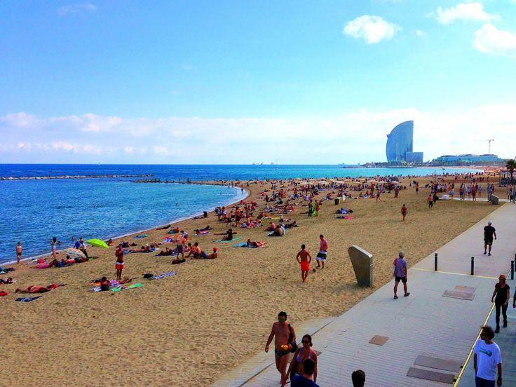 Beach Cities Near Barcelona Spain
