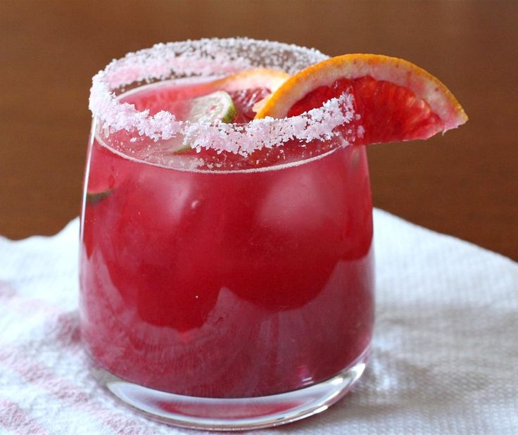 Blood Orange Margarita ~ 1 1/2 ounces Gold Tequila, 1 ounce Cointreau ...