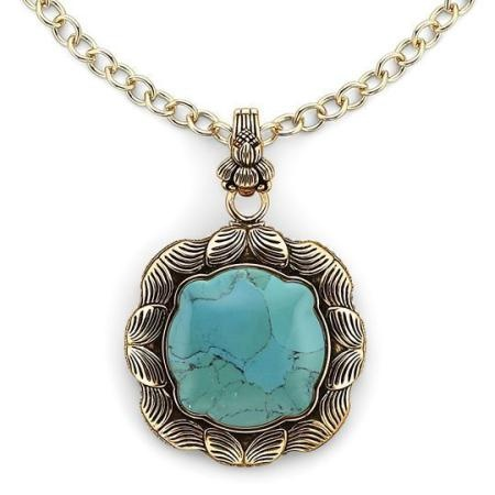 turquoise necklace bronze at jcpenney jewelry