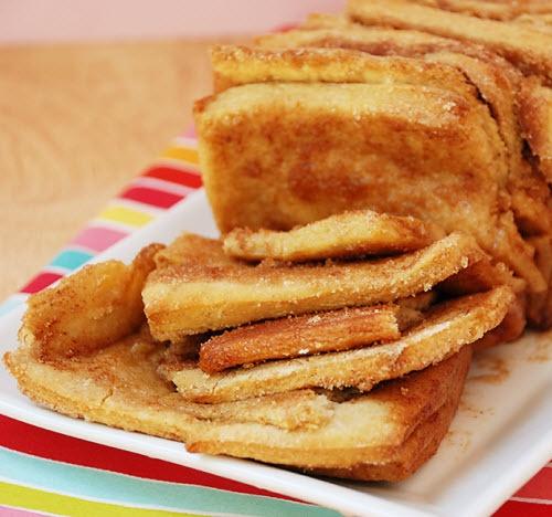 Cinnamon Sugar Pull Apart Bread...ok, so sugar is not the best, but ...