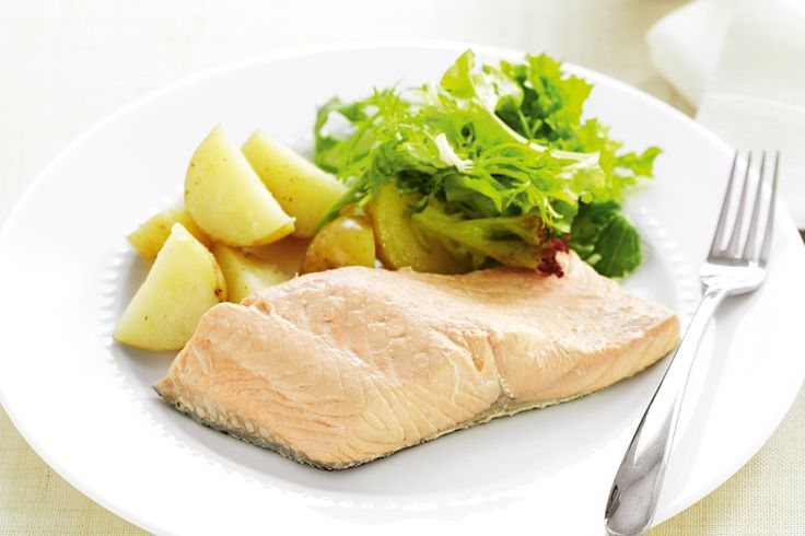 Easy Poached salmon | Healthy Recipes | Pinterest