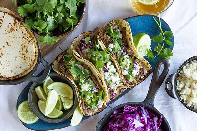 Slow-Cooked Smoky Beef Tacos | Recipe