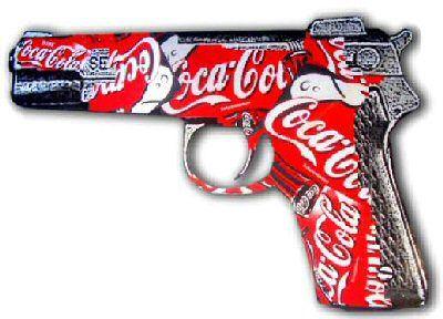 Coca Cola gun