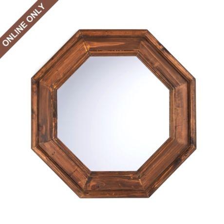 Kirkland's: Wood Atwood Octagonal Mirror