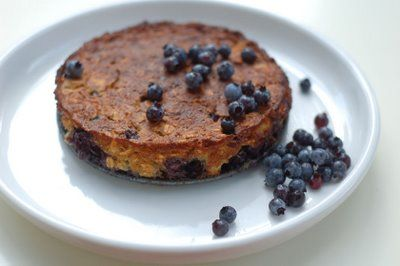 Blueberry cake with maple syrup | Skinny Jeans Food Blog | Pinterest