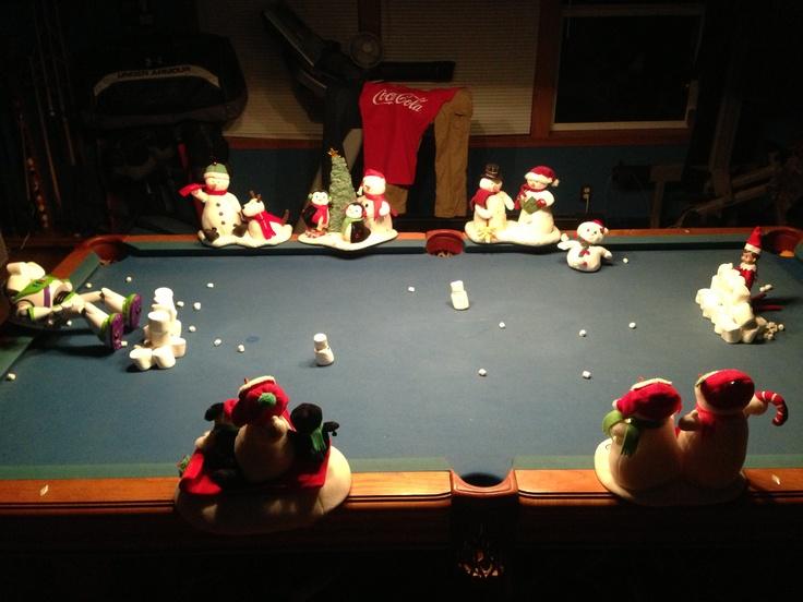 Elf on the Shelf Snowball Fight !! | Home Ideas | Pinterest