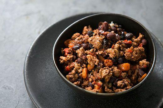 Black Bean Turkey Chili from Simply Recipes