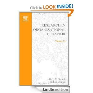 organizational psychology research topics