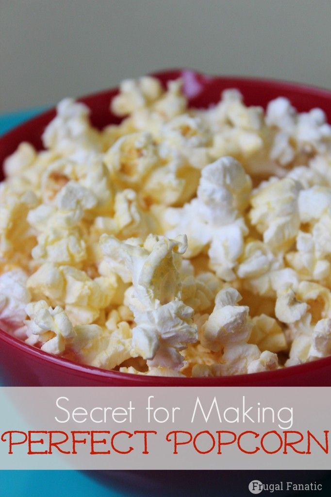 Secret to Perfect Popcorn for Family Movie Nights #sp #PerfectPop