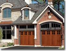 Arts and crafts garage doors new home ideas pinterest for Arts and crafts garage