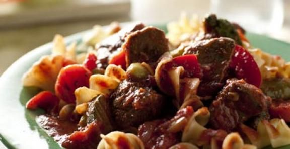Beef Stew with Italian Vegetables | Recipe