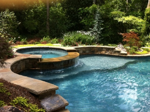 tanning shelf backyard pool ideas pinterest