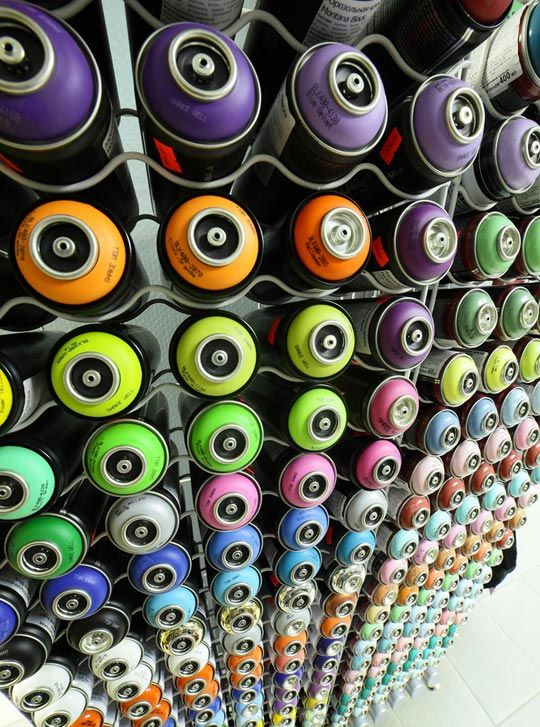 10 Online Sources For Spray Paint