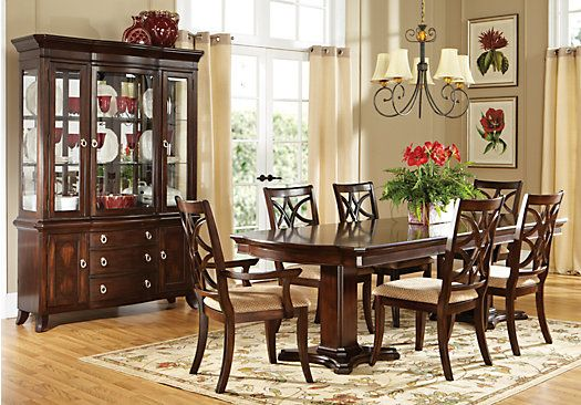 grace lane walnut dining room collection rooms to go dining room