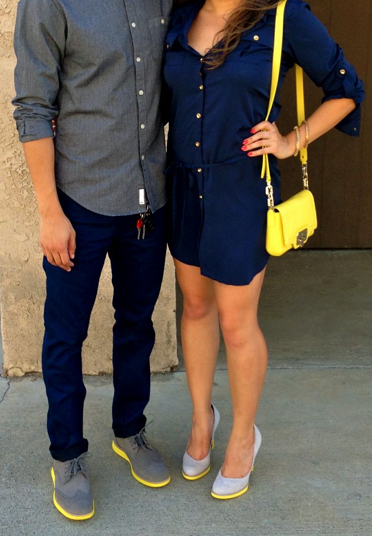 His hers matching outfits my style pinterest for Matching denim shirt and jeans