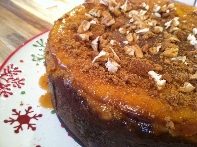 Caramel Pumpkin Gingersnap Cheesecake | Pumpkin Madness | Pinterest