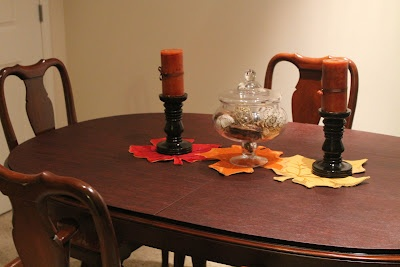 Fall Dining Room Table Centerpiece Decor Ideas Pinterest