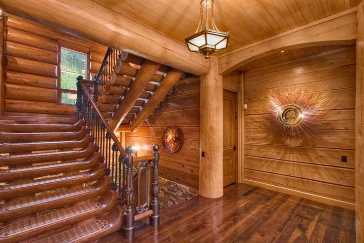 Log Cabin Homes Interior For The Home Pinterest