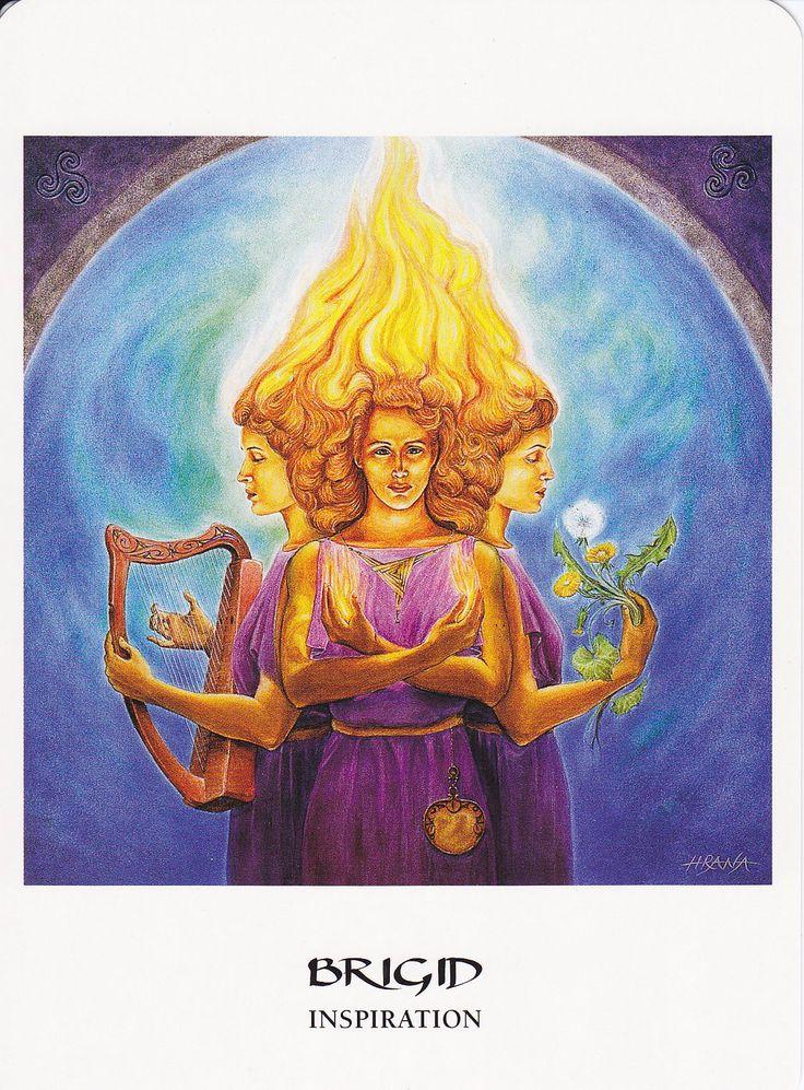This was how my first communication with Brigid began  through a tarot    Xochiquetzal Symbol