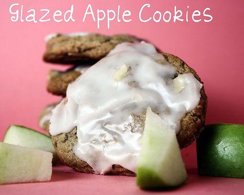 Glazed Apple Cookies Recipe — Dishmaps