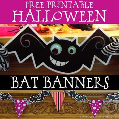 Halloweenské šablonky k vystřižení | Vystřihovánky | Pinterest