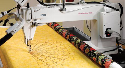 pfaff arm quilting machine
