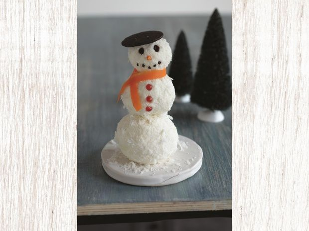 Coconut Snowman Cheese Ball - adorable | Home for the Holidays | Pint ...