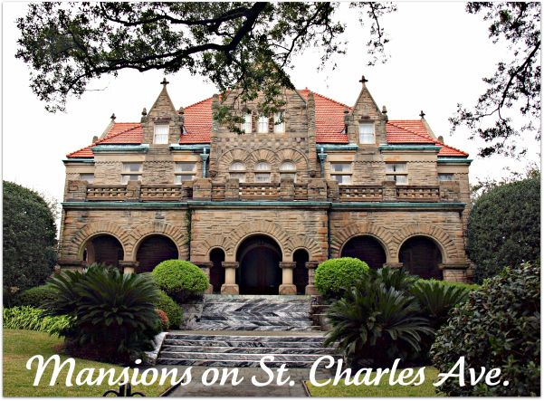 St charles avenue mansion castles chateaus manors for Mansions in new orleans