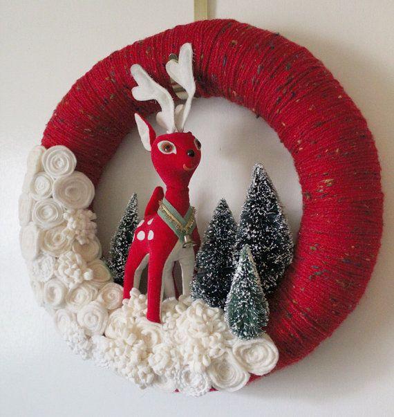 cute deer wreath