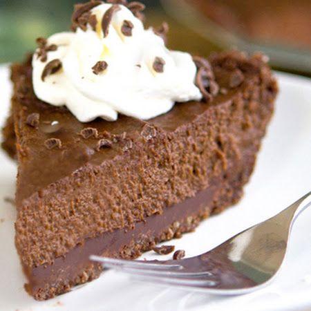 Triple Chocolate Pumpkin Pie | yum | Pinterest