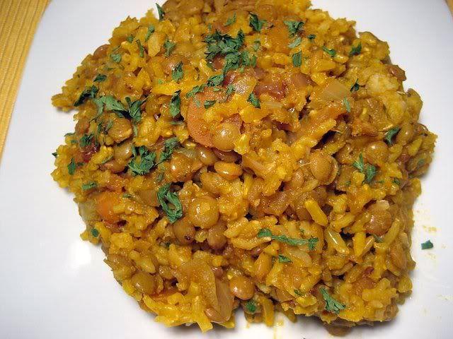 mujadara | Favorite Vegetarian Recipes | Pinterest