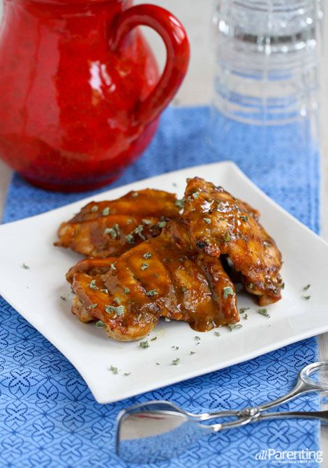 Grilled chicken with Dijon molasses glaze | allParenting.com #chicken
