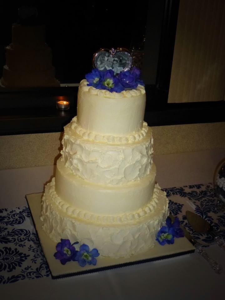 Simple Wedding Cake Cakes Pinterest