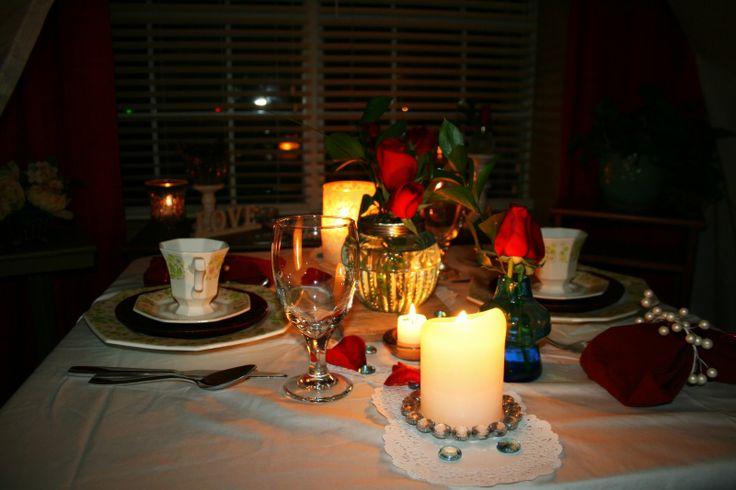 Romantic Dinner At Home Romance Pinterest