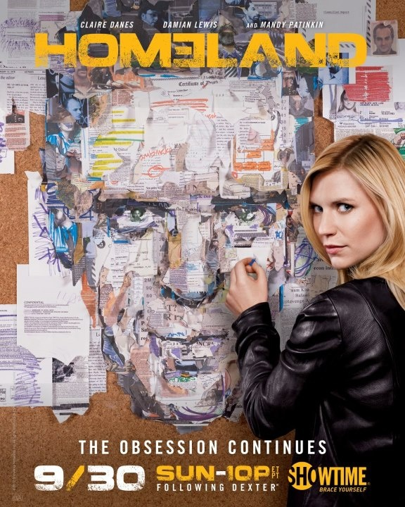 HOMELAND, season 2, new Poster