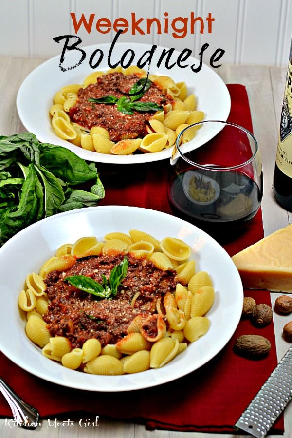 Weeknight Bolognese--the best sauce EVER and so delicious to make ...