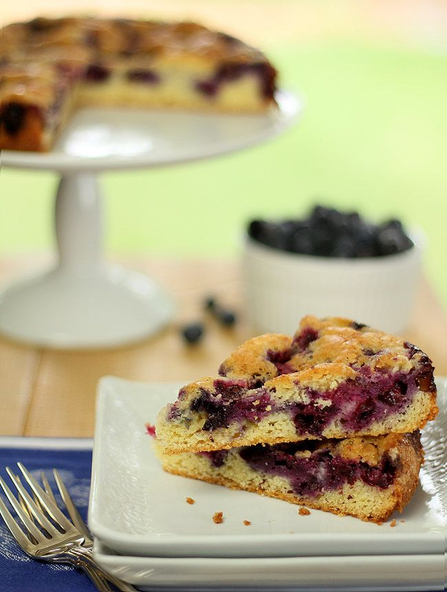 Blueberry Nutmeg Cake and a 'Ripe' Cookbook #Giveaway | Recipe