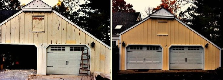 crown molding garage door frame and brick molding replacement