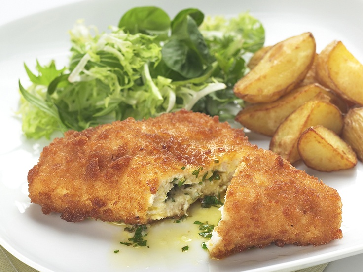 Chicken Kiev - There is some question as to whether this dish ...