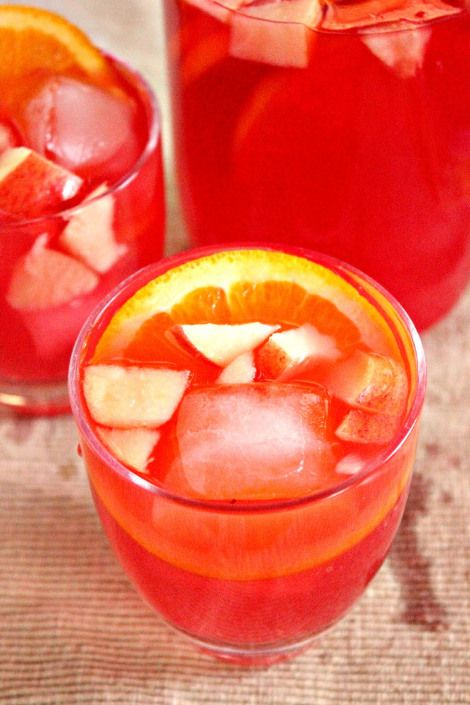 Non-Alcoholic Sangria | Drink Up Buttercup! | Pinterest