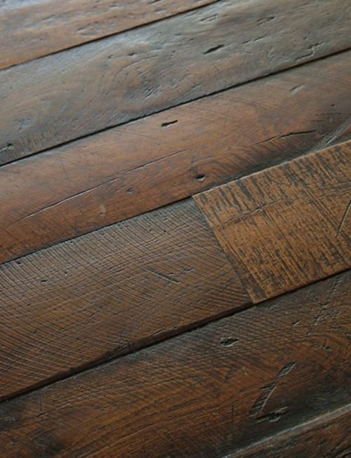 Distressed Wood Floors New House Ideas Pinterest