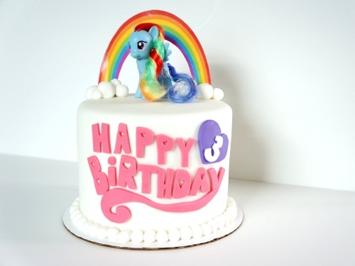 Who can make this for me ... or help me make it?  Any takers???  My Little Pony birthday cake
