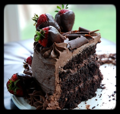 extreme chocolate cake of love | Desserts/Sweets | Pinterest