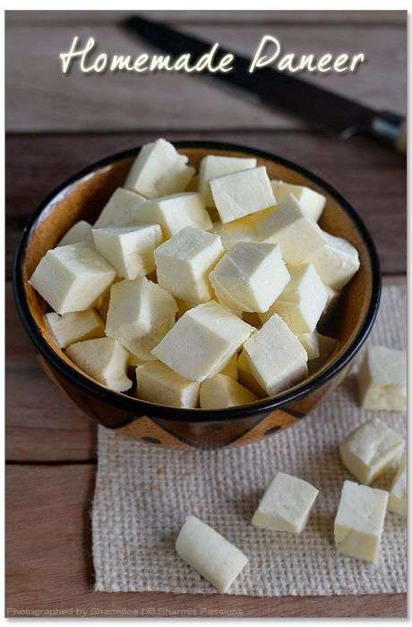 Here is How to Make Smooth and Soft Cottage Cheese (Paneer) at Home ...