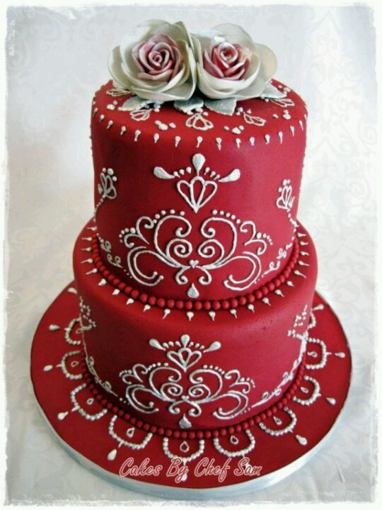 Modern Piping Wedding Cake Cake Pinterest