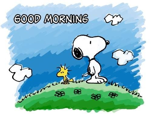 Good Morning Snoopy Quotes : Snoopy good morning peanuts pinterest