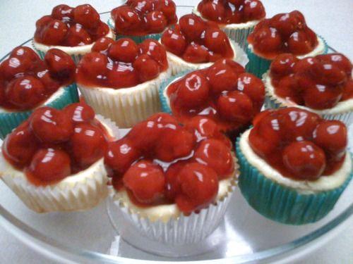 Cherry Cheesecakes
