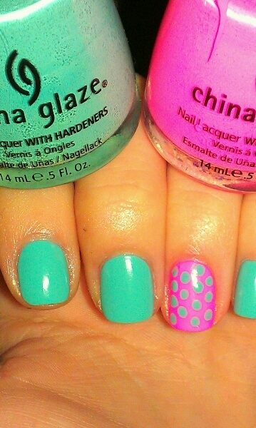 For Audrey and Shocking Pink (Neon) by China Glaze. <3