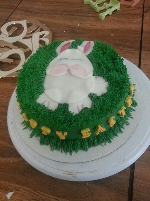 Easter Cake Decorations Pinterest : Easter bunny cake My Cake Decorating Pinterest