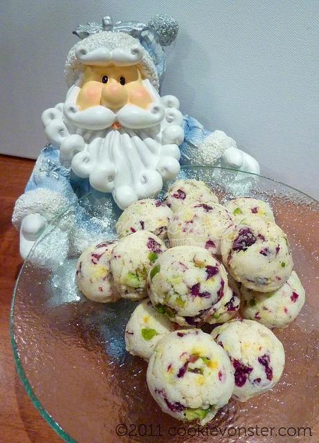 ... Cranberry Pistachio white chocolate orange zest Shortbread cookies